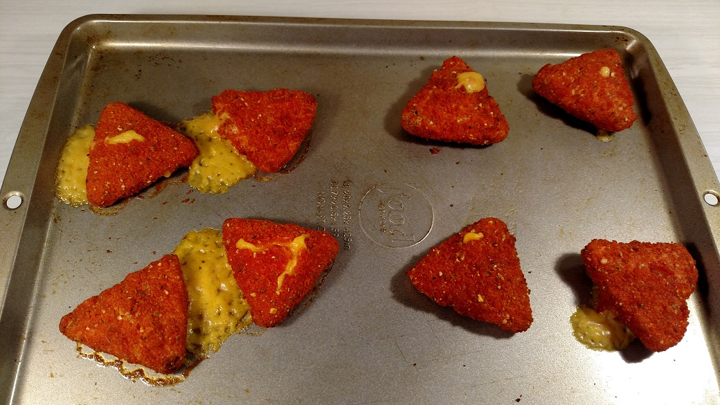 Review Doritos Loaded Breaded Cheese Snacks New Fewd