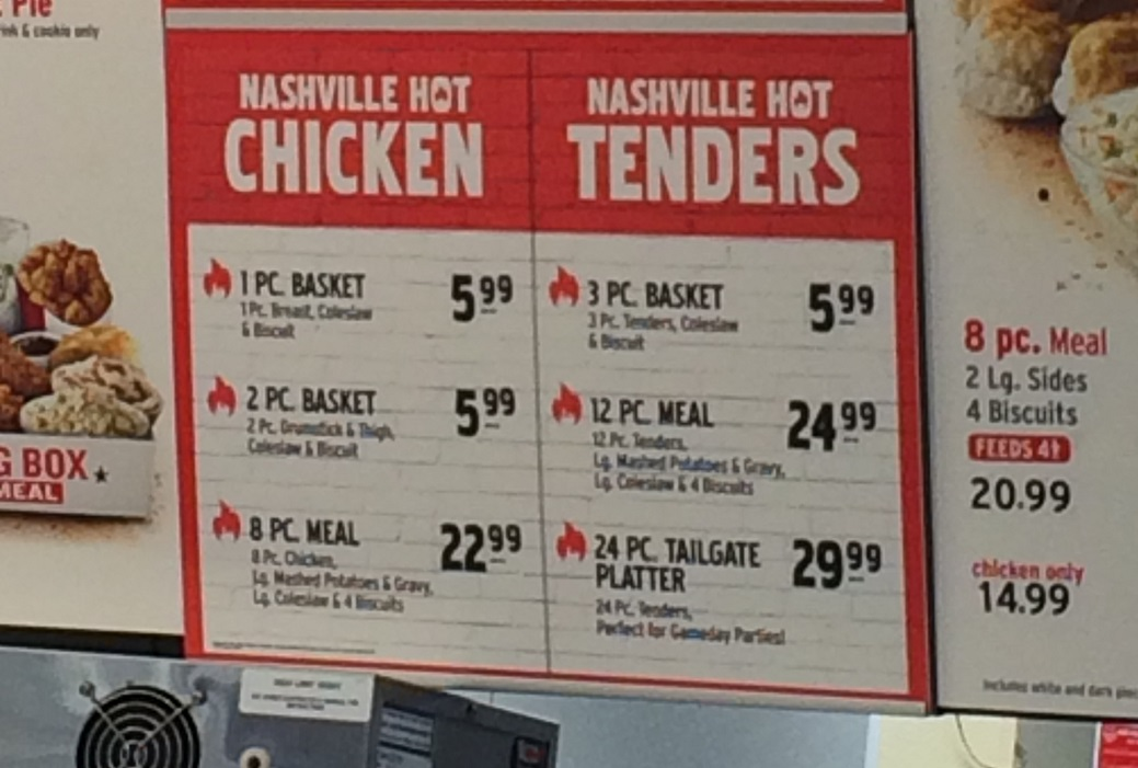 Review Kfc Nashville Hot Chicken New Fewd Snobs