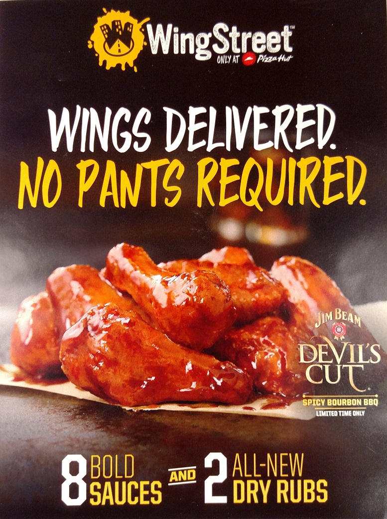 Review Pizza Hut Jim Beam Devil S Cut Spicy Bourbon Bbq Wings New Limited Time Only Fewd Snobs
