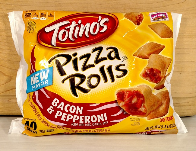 Review Totinos Bacon Pepperoni Pizza Rolls New Fewd