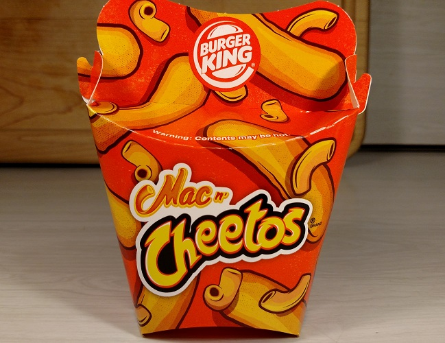 Review Burger King Mac N Cheetos New Limited Time Only Fewd Snobs